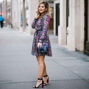 Gorgeous NWT Kate Spade Black & Multicolor Dress